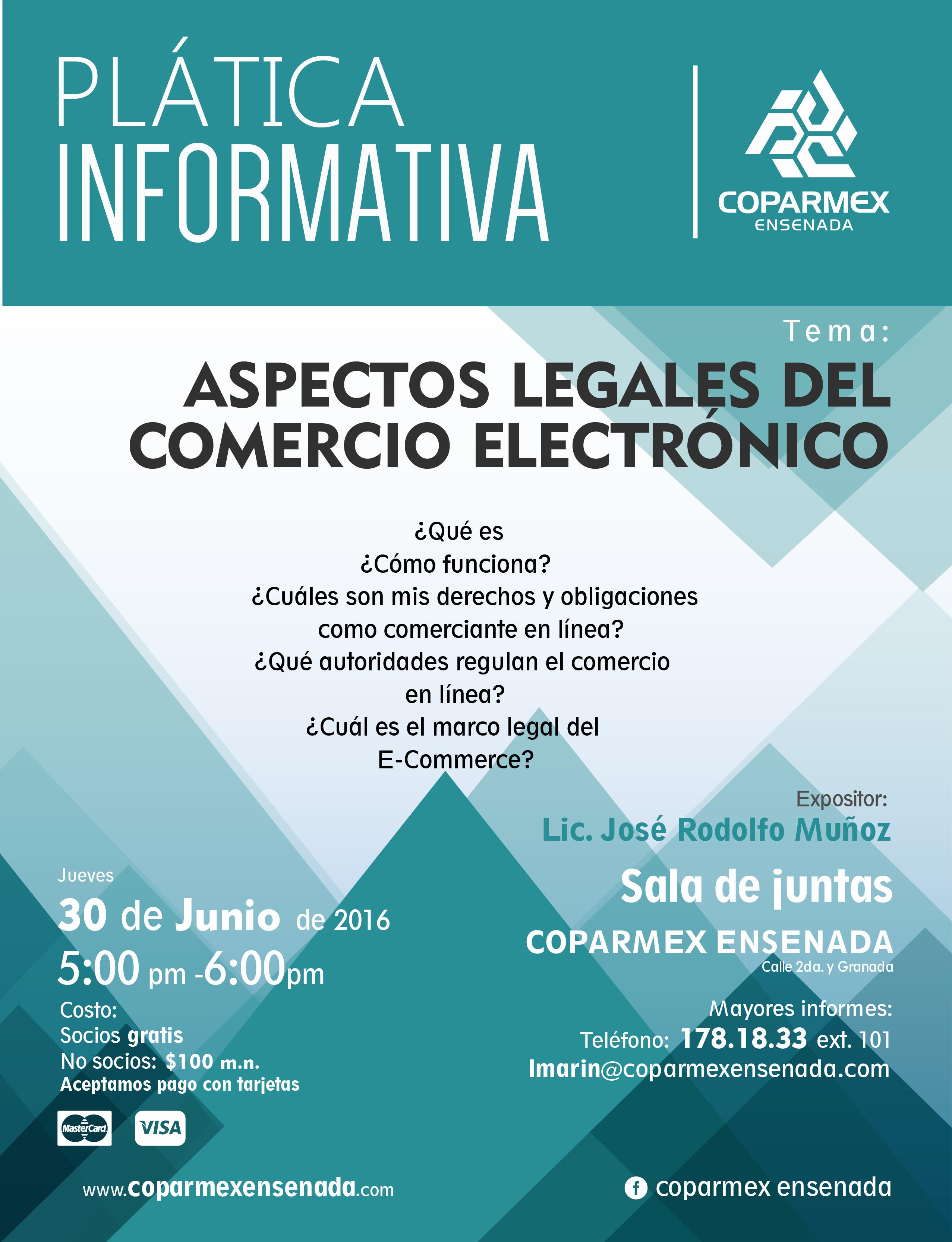 Aspectos Legales del Comercio Electrónico – Coparmex