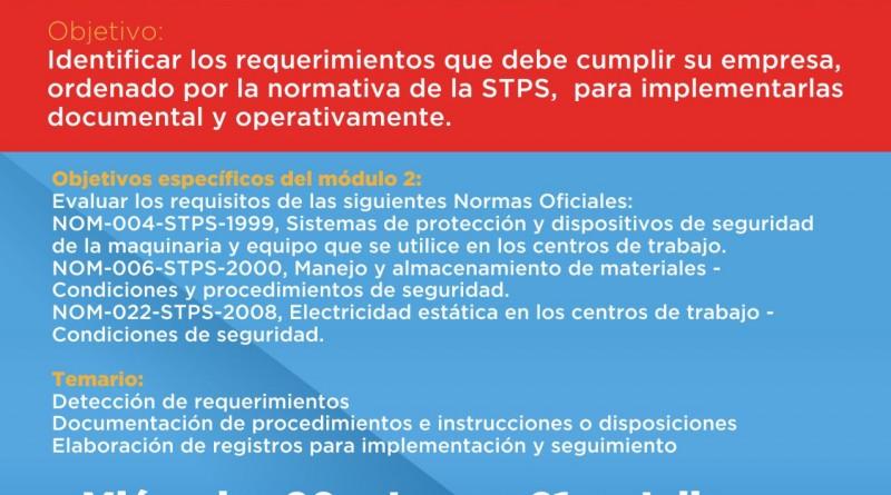 Diplomado NOM's Modulo 2