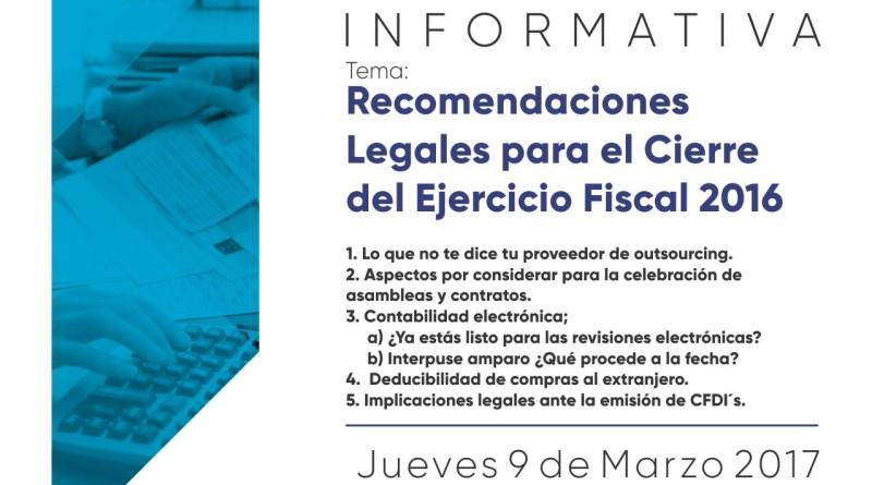 flyer platica informativa marzo