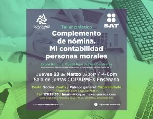 flyer platica informativa marzo SAT 2017